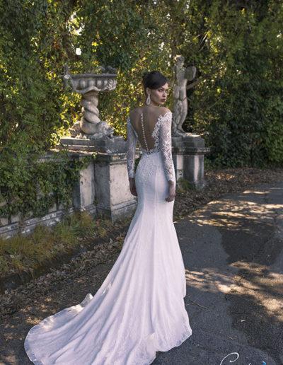 abito da sposa modello Urania di Capri