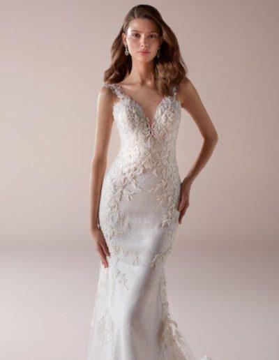 abito da sposa modello 844 Romance di Nicole