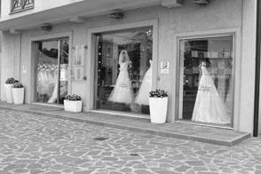 Esterno Atelier della Sposa San Marino a due passi da Rimini