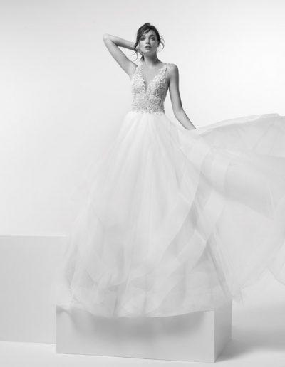 Abito da sposa modello Arabia di Alessandra Rinaudo