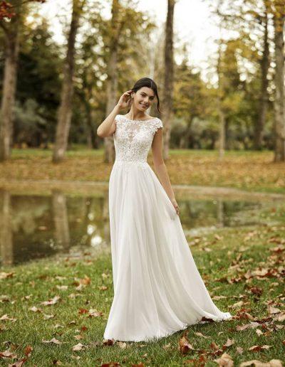 Abito da sposa modello Ofelia di Rosa Clarà