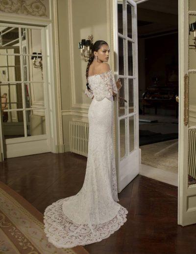 Abito da sposa modello Oliana di Rosa Clarà