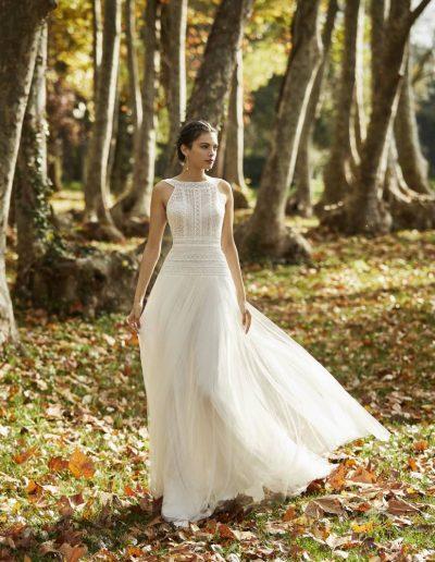 Abito da sposa modello Omero di Rosa Clarà