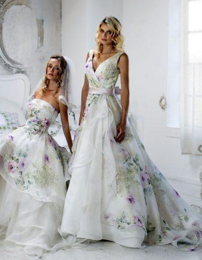 Abito da sposa modello Liviana di Le Rose