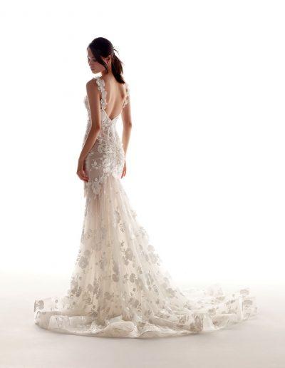 Abito da sposa modello Elie di Alessandra Rinaudo