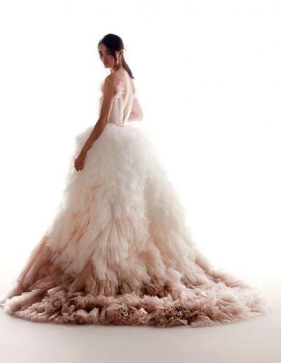 Abito da sposa modello Edith di Alessandra Rinaudo