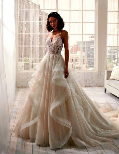 Abito da sposa modello 20201 Jolie di Nicole