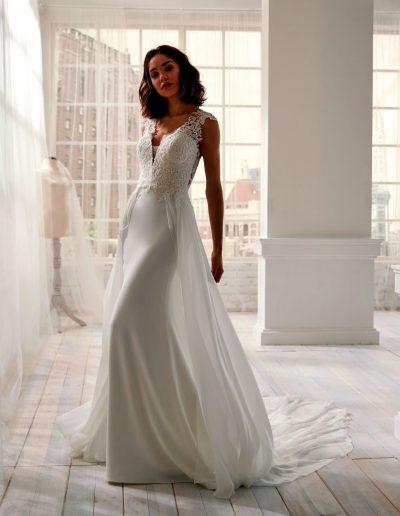 Abito da sposa modello 20511 Jolie di Nicole