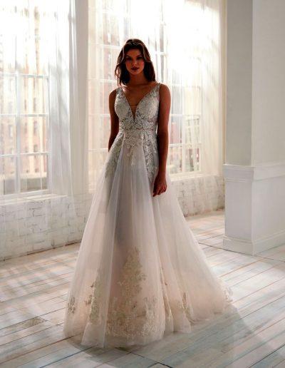 Abito da sposa modello 20701 Jolie di Nicole
