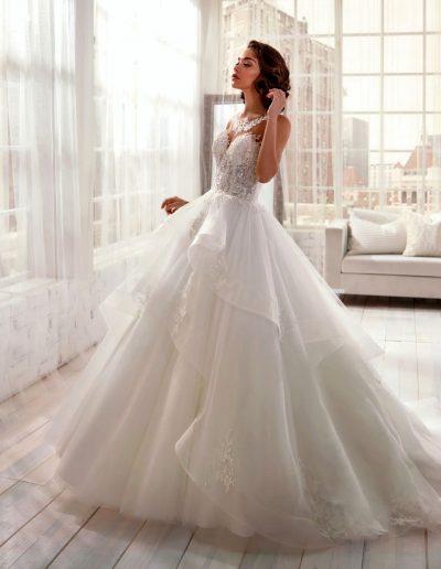 Abito da sposa modello 20981 Jolie di Nicole