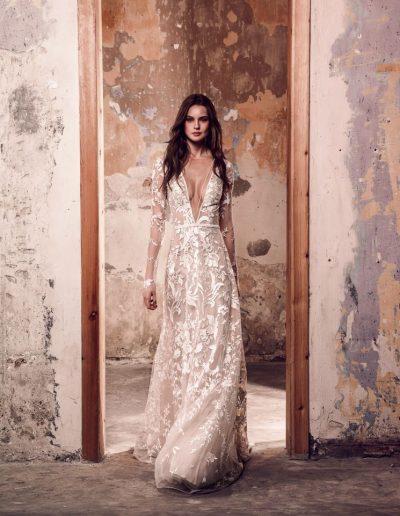 Abito da sposa modello Joan di  Riki Dalal