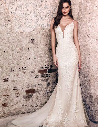 Abito da sposa modello Karlie di Riki Dalal