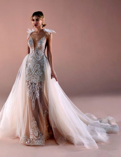 abito da sposa modello 2014 Romance di Nicole