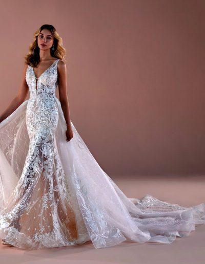 abito da sposa modello 2060 Romance di Nicole