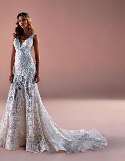 abito da sposa modello 2066 Romance di Nicole
