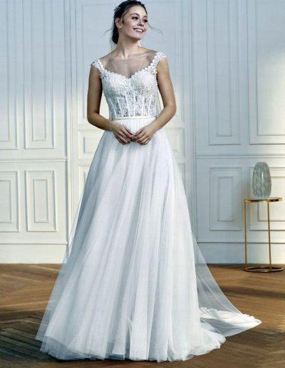 abito da sposa modello Truffaut di Sant Patrick