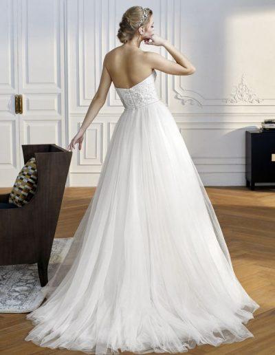 abito da sposa modello Vernier di Sant Patrick