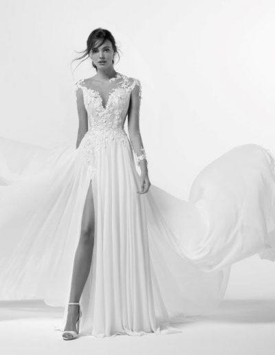 abito da sposa modello Alice di Alessandra Rinaudo