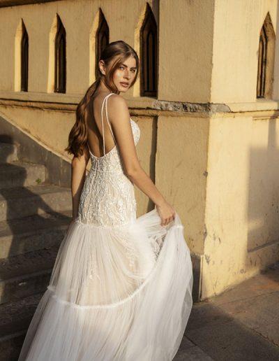 Abito da sposa modello Anna di Riki Dalal