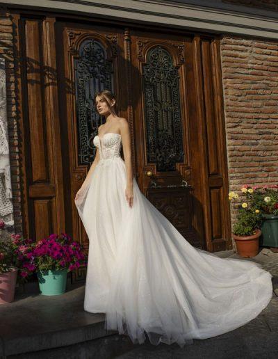 Abito da sposa modello Irene di Riki Dalal