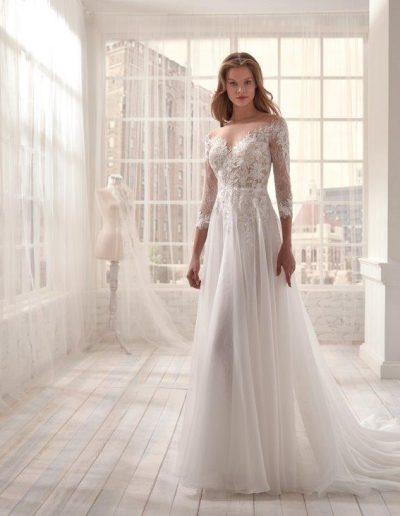 Abito da sposa modello 20411 Jolie di Nicole