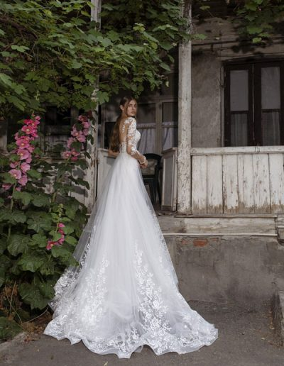 Abito da sposa modello Katharine di Riki Dalal