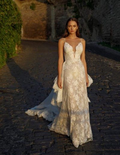 Abito da sposa modello Elda di Michela Ferriero