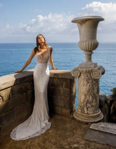 Abito da sposa modello Eva di Michela Ferriero