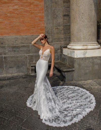 Abito da sposa modello Gardenia di Capri