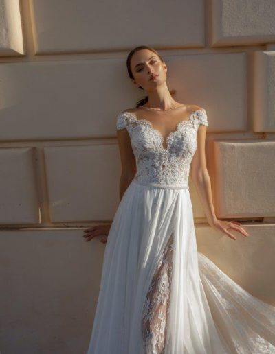 Abito da sposa modello Luna di Michela Ferriero